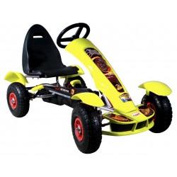 Go-kart Formula Sport amarillo