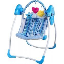 Columpio automatico Corazón azul