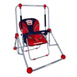 Columpio y silla 2 en 1 rojo