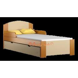 Cama infantil de madera de pino macizo con cajón Bil1 160 x 80 cm