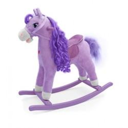Caballo balancin Princesa Violeta