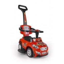Correpasillos coche 3 in 1 HAPPY rojo