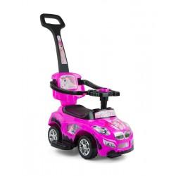 Correpasillos coche 3 in 1 HAPPY rosa