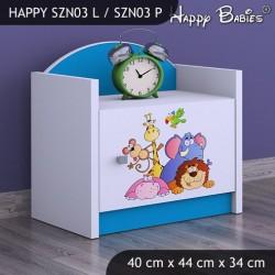 Mesa de noche Happy Colección 3