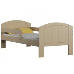 Cama de madera de pino macizo Milly con cajón 160x70 cm