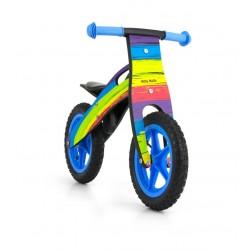 King Arco Iris - bicicleta de madera sin pedales
